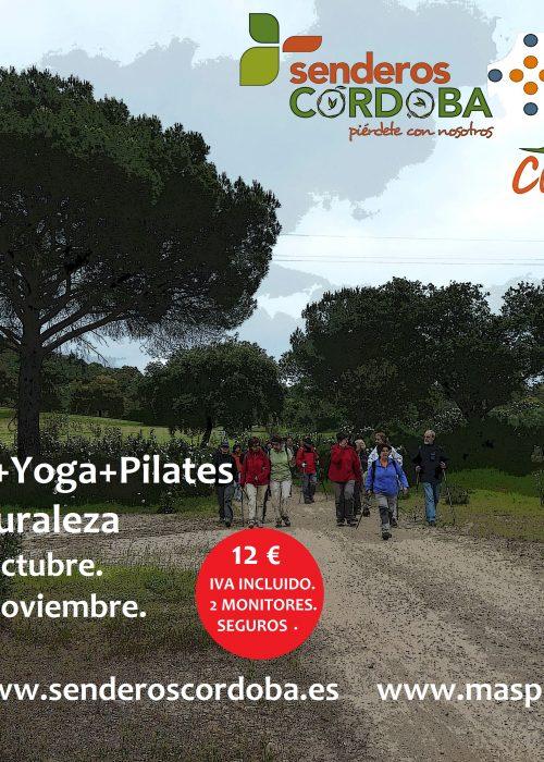 Senderismo+yoga+pilates en el arroyo Santo Domingo. - Senderos Cordoba