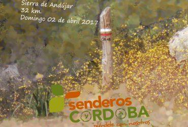 VIRGEN DE LA CABEZA A MARMOLEJO por el GR 48 - Senderos Cordoba
