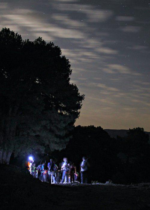 Paseo nocturno por la Ribera del Huéznar - Senderos Cordoba