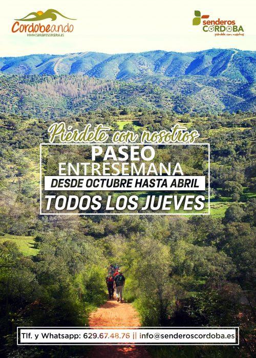 Paseo entre semana cordobeando 17/10/19 - Senderos Cordoba