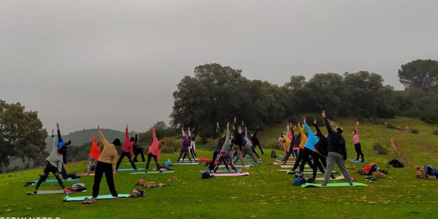 Senderismo Yoga y meditación